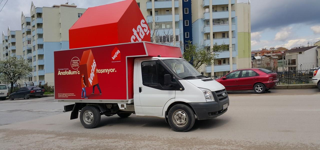 Koçtaş Bursa Taşınma  Özel Proje...