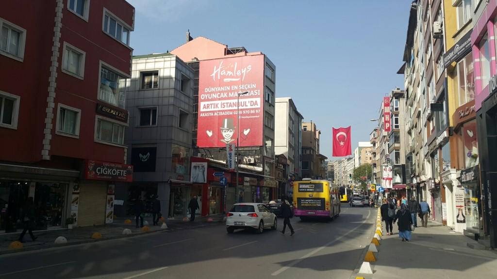Hamleys Kadıköy Duvar Kullanımı